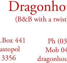 Dragon House B & B